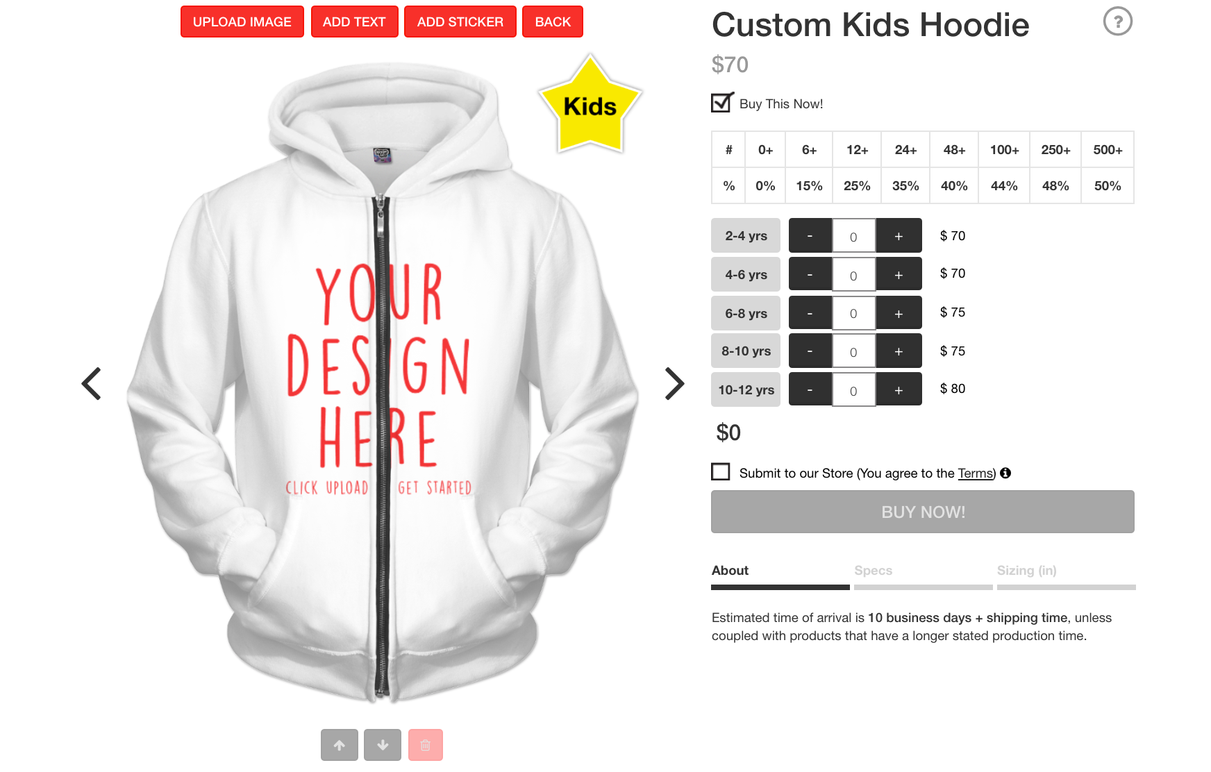 5c550e0b947b Give the little one in your life a unique custom wardrobe that fits their  personality or create your own brand of children s clothing like the world  has ...
