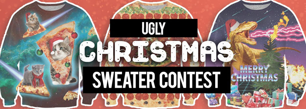 ugly christmas sweater design contest