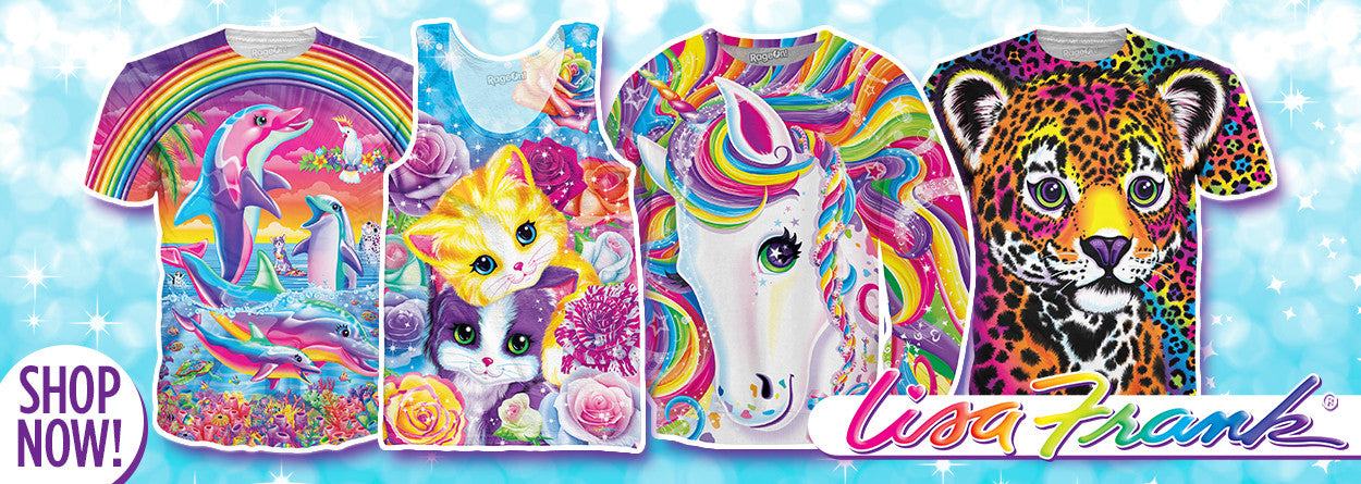 lisa frank clothing