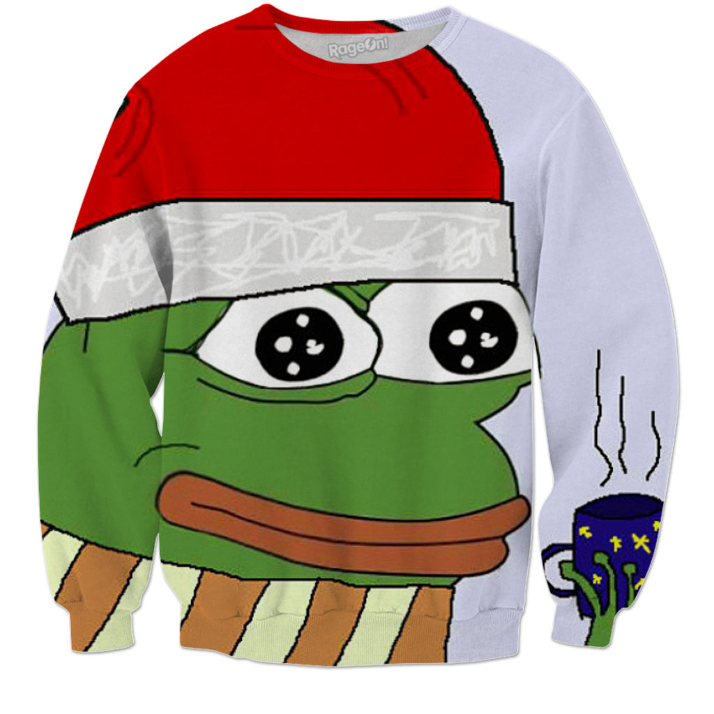 pepe the frog sweater