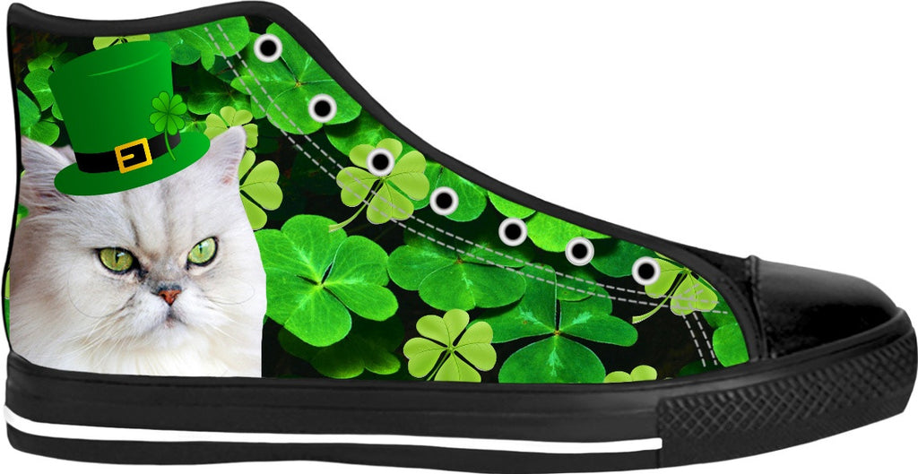 Irish Cat High Top Sneakers
