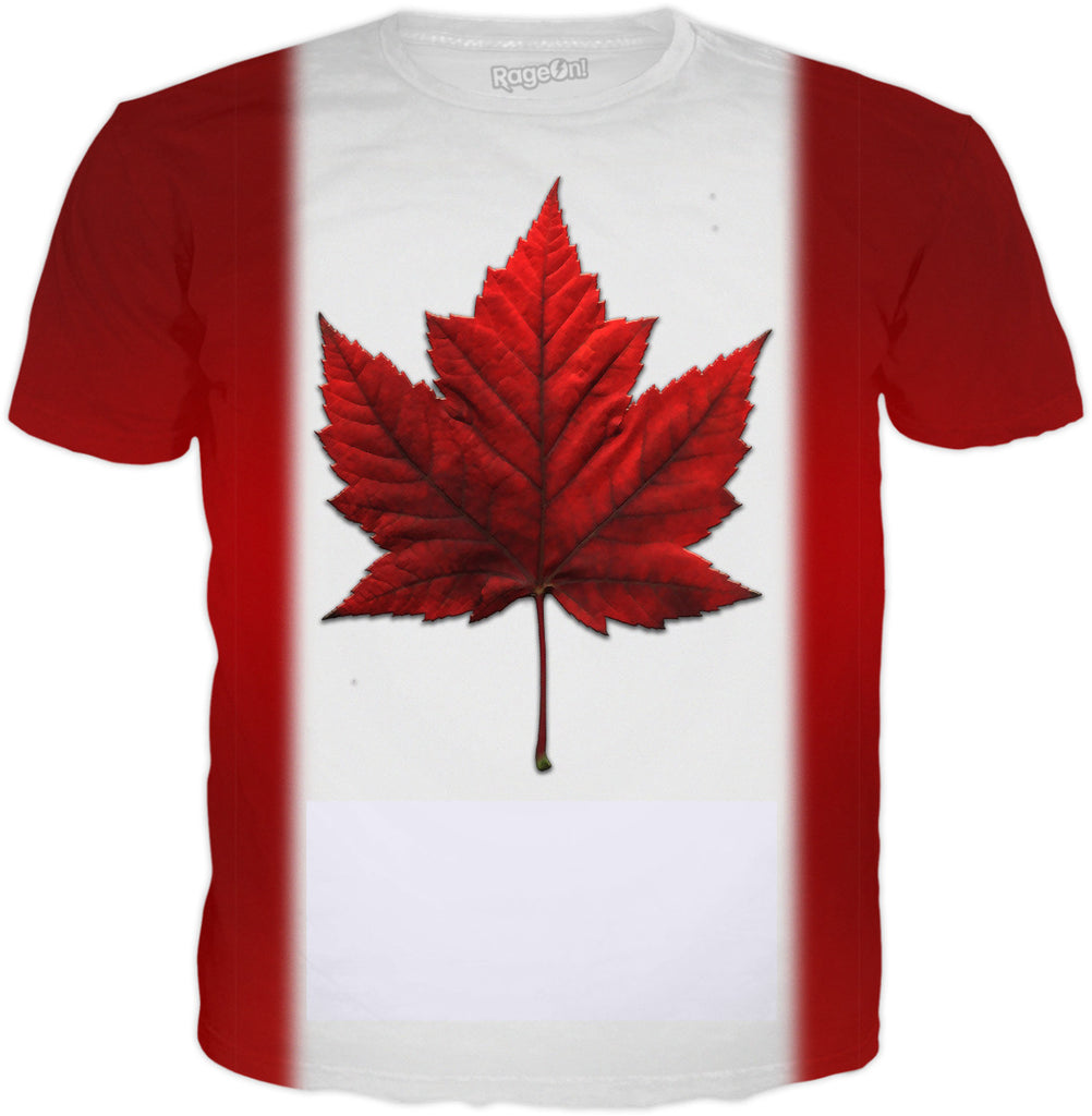 flag t shirt cool canada souvenir shirts