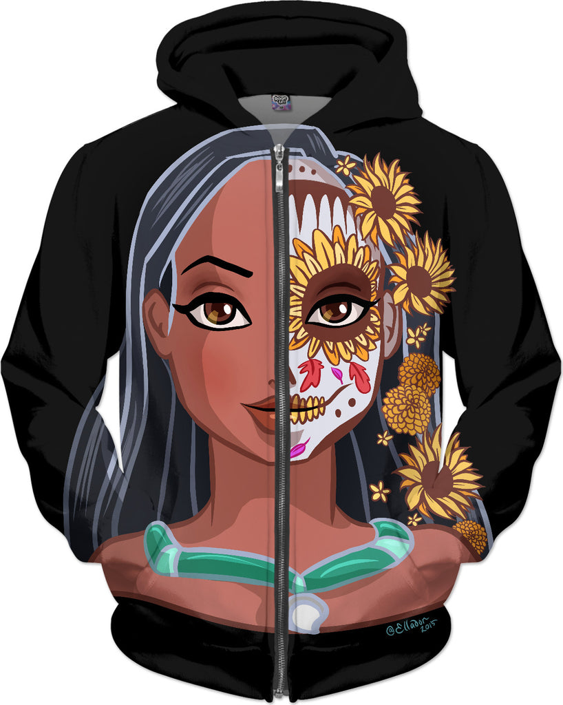 Native American Princess: Sugar Skull Series