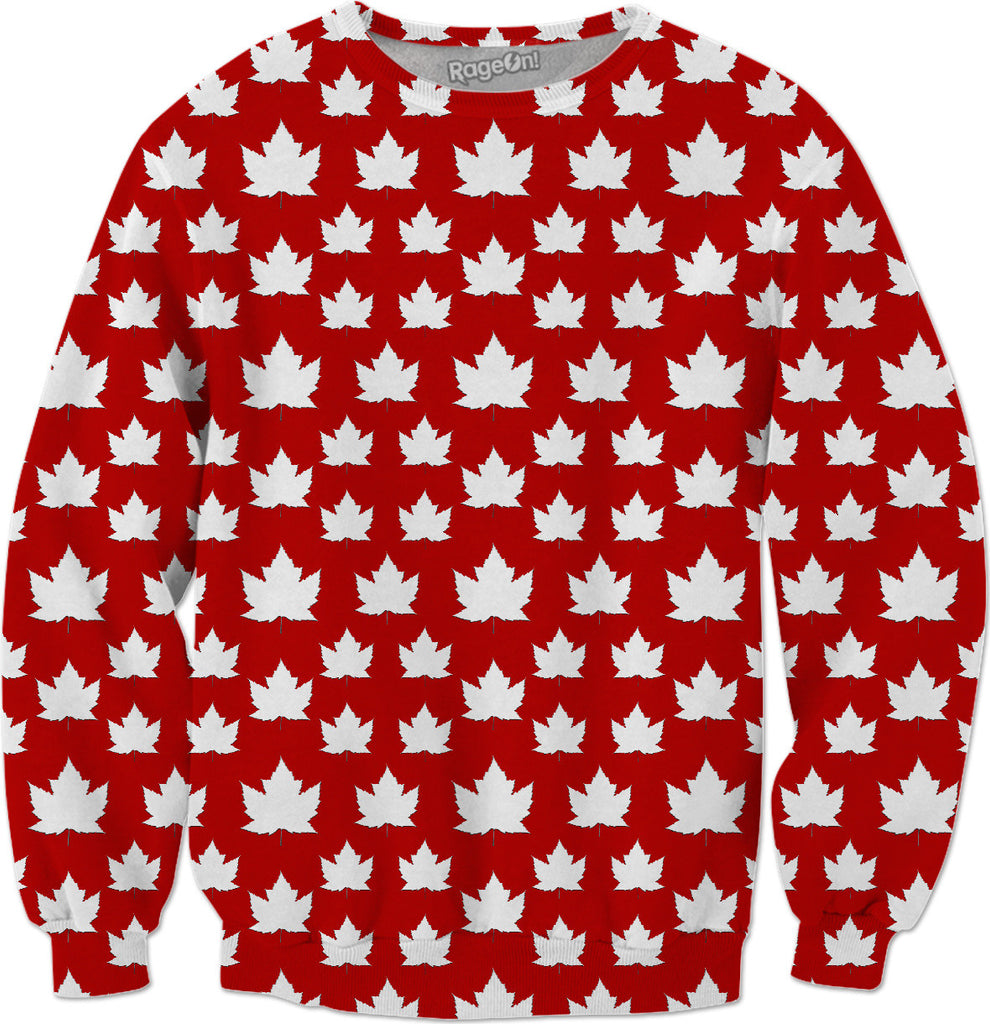 Fun Canada Sweatshirts Canada Maple Leaf Shirts Xsm- 5xl