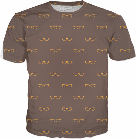 Gold Glasses T-Shirt