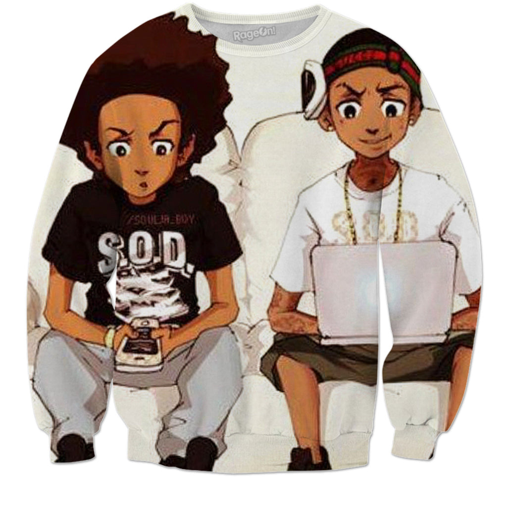 Huey Freeman With Swag Pictures to Pin on Pinterest ...