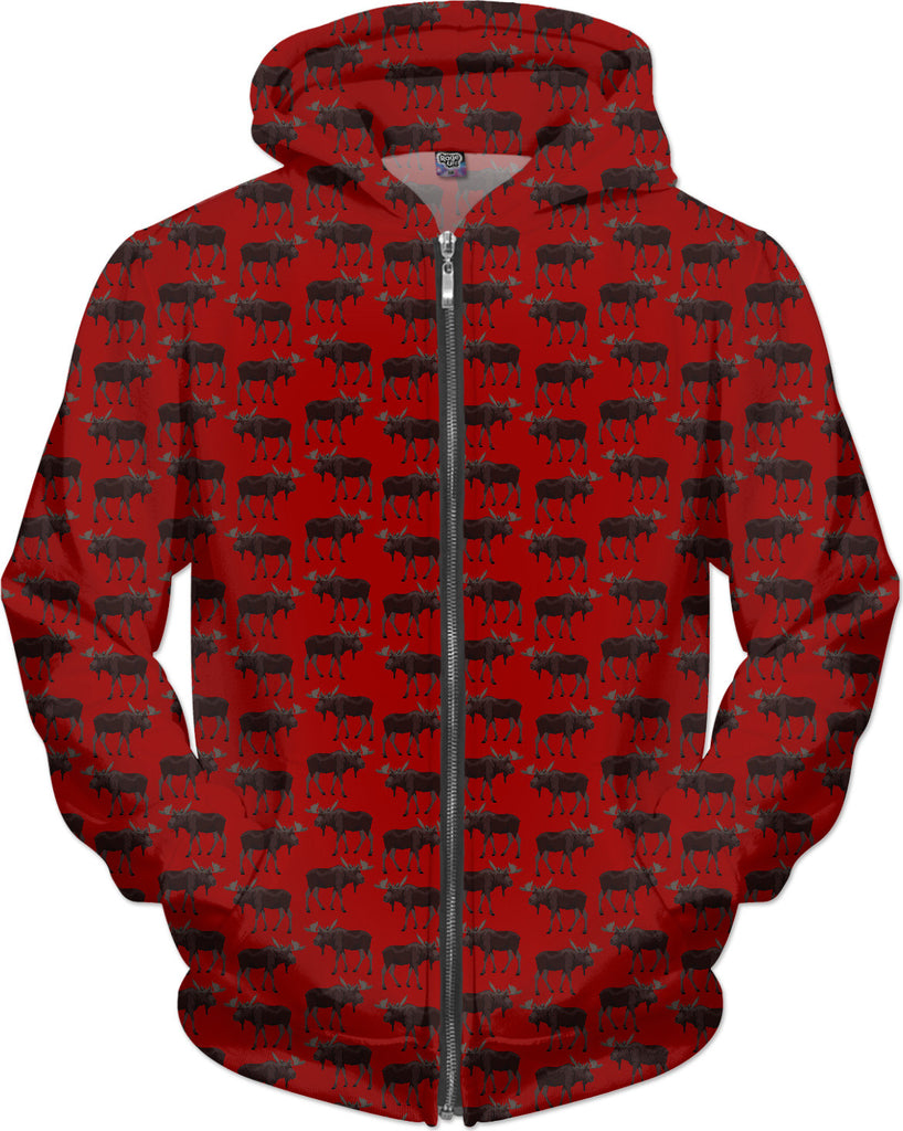 Moose Hoodies Moose Art Kangaroo Jackets