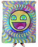Awesome Smileyface Fleece blanket