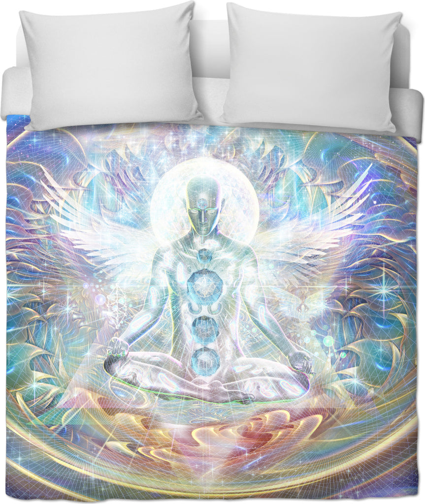 Centre of the universe Duvet Cover