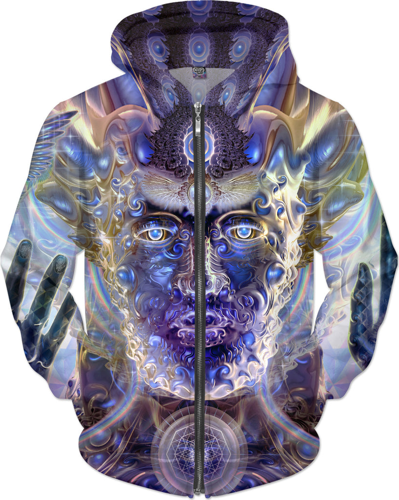 Divination Hoodie from Visionary Artist Louis Dyer