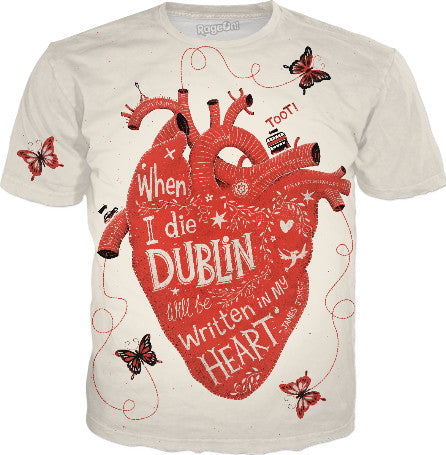 'When I Die Dublin will be written in my HEART' - James Joyce