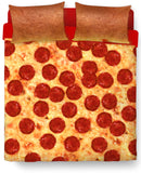 Pizza Bed Duvet Cover and Pillow Case Combo