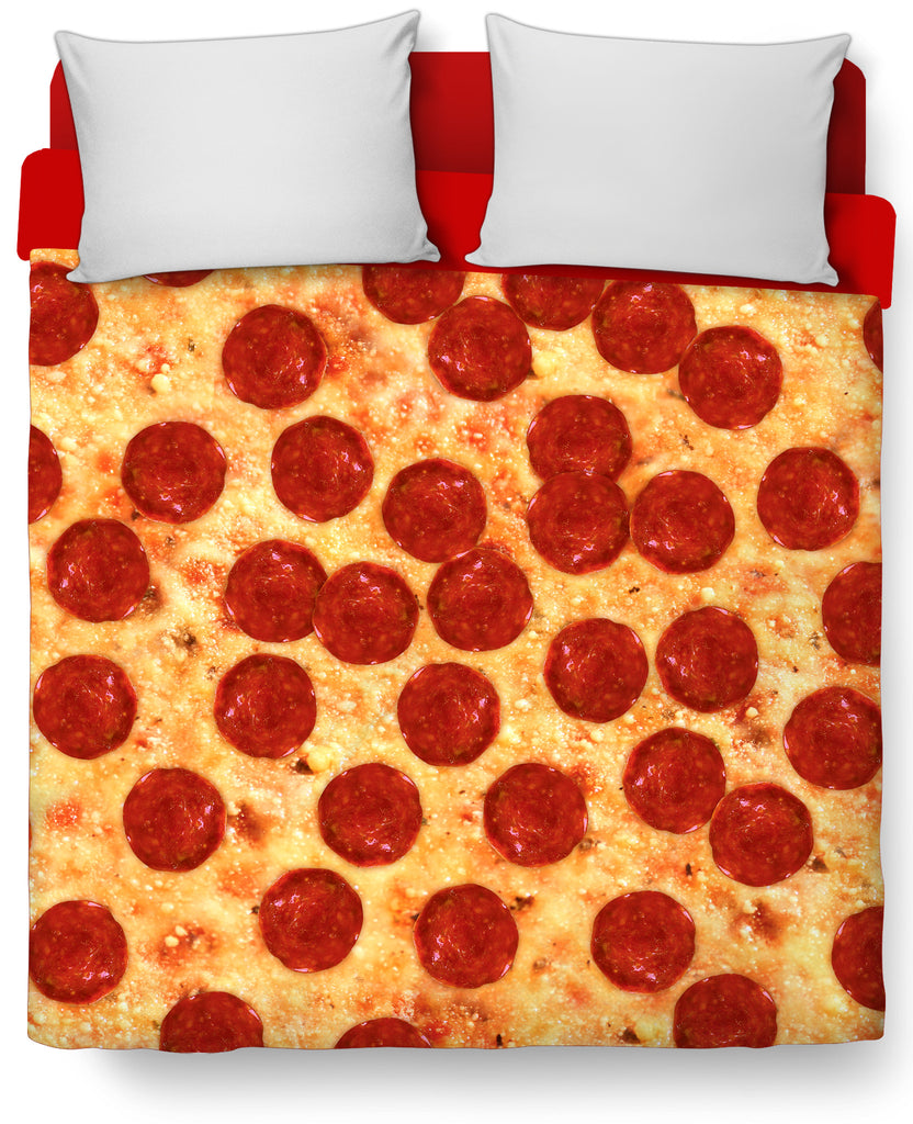 Pizza Duvet Cover