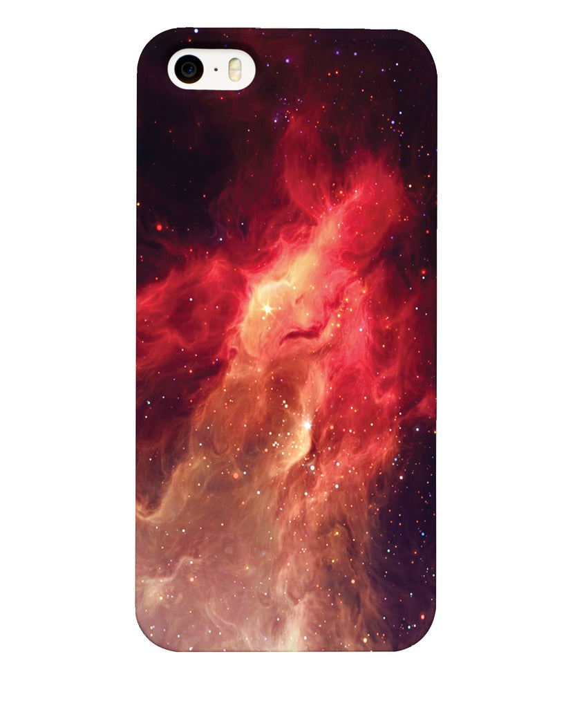 Crimson Nebula Phone Case