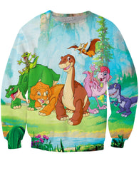 The Land Before Time Gang Crewneck Sweatshirt *Ready to Ship*