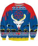 Satan's Ugly Christmas Sweatshirt
