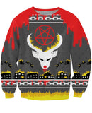 Satan's Ugly Christmas Sweatshirt *Ready to Ship*