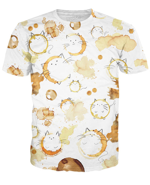 Kitty stains t shirt for How to get a coffee stain out of a shirt