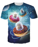 They Came From Otter Space T-Shirt
