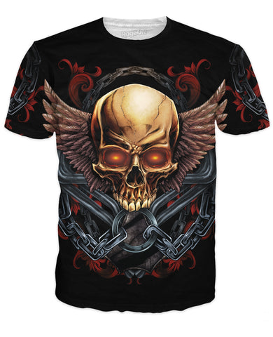 Skull and Wings T-Shirt