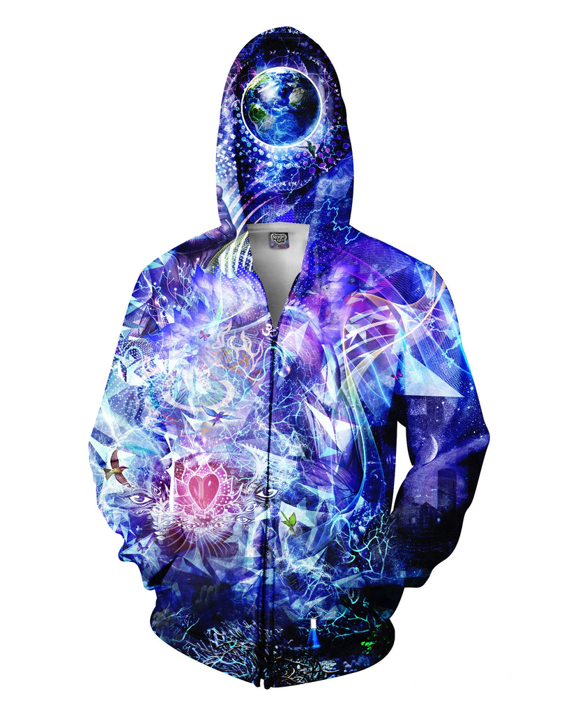Transcension Zip-Up Hoodie
