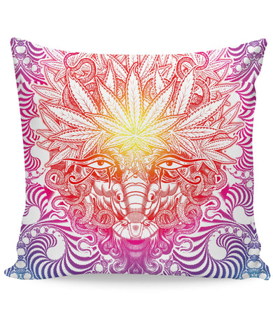 Weed Goat Couch Pillow