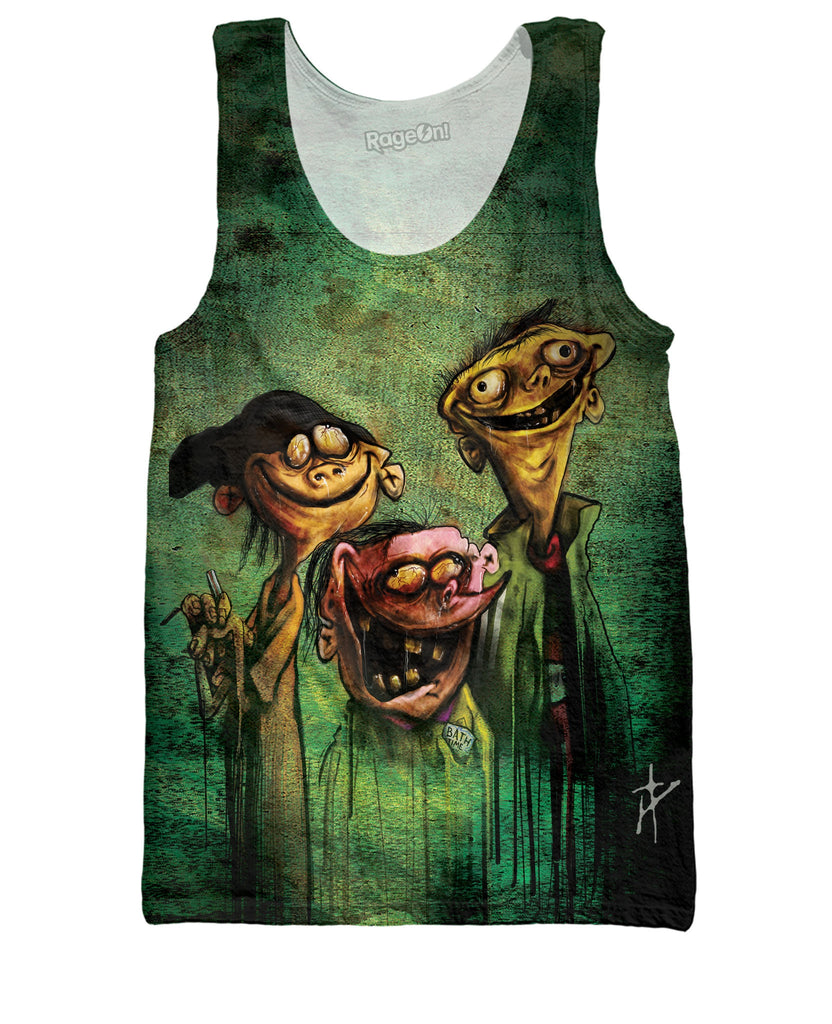 edd n eddy on bathsalts tank top