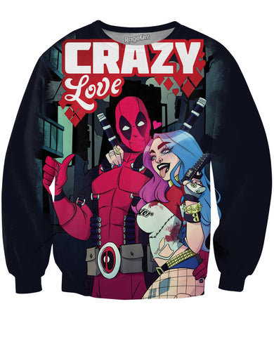 Crazy Love Crewneck Sweatshirt
