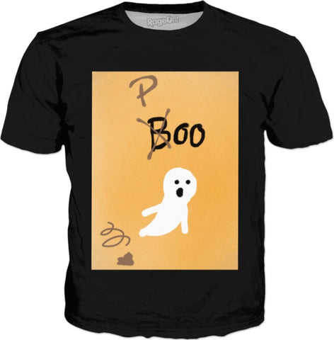 Boo Poo Halloween - Circle Square Designs