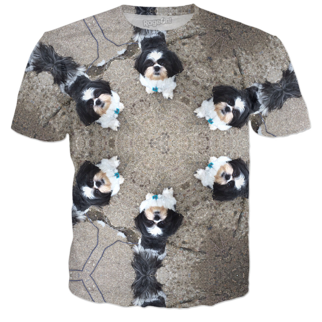 Shih Tzu Teddy Circle Kalidascope
