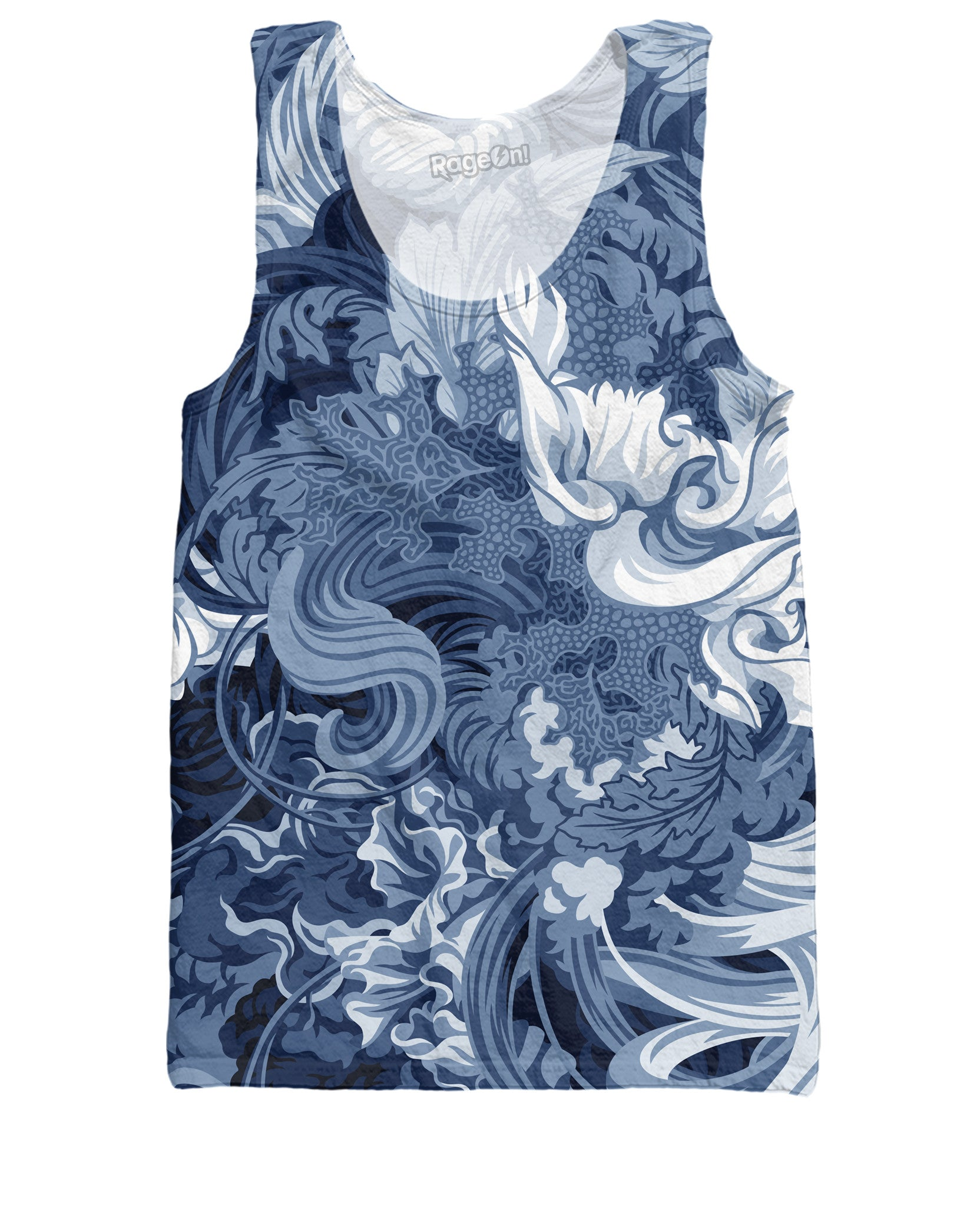 Abundantia Blue Tank Top