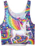 Lisa Frank Skye Crop Top