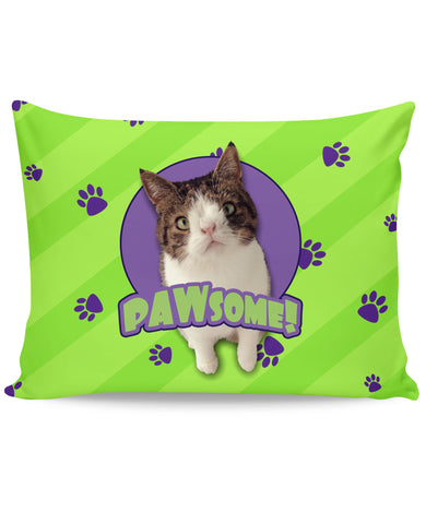 PAWsome Green Pillow Case