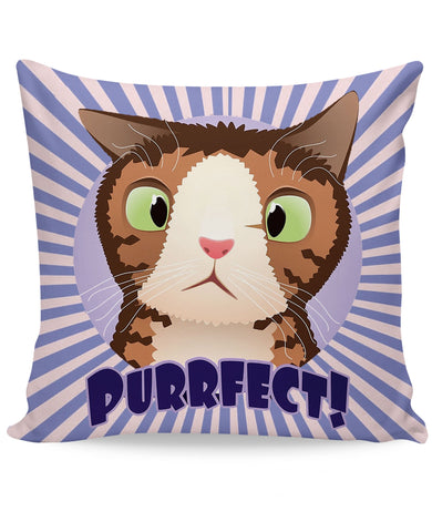 Monty PURRfect Couch Pillow