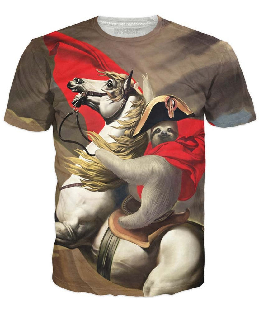 Napoleon Sloth T-Shirt *Ready to Ship*