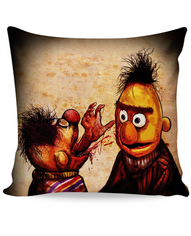 Bert and Ernie Twink Eaters Couch Pillow
