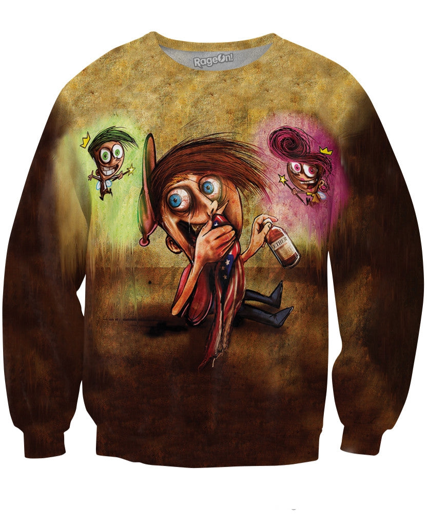 Fairly Odd Parents Crewneck Sweatshirt