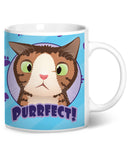 Monty PURRfect Blue Coffee Mug