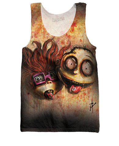 Rugrats on Acid Tank Top
