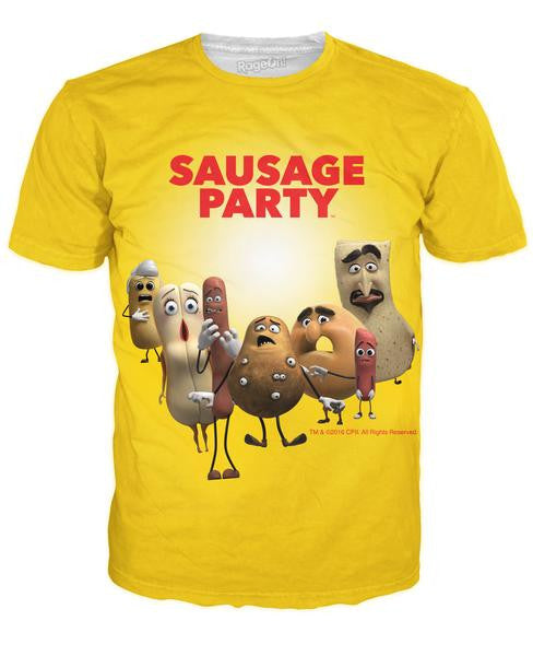 Sausage Party Characters T-Shirt