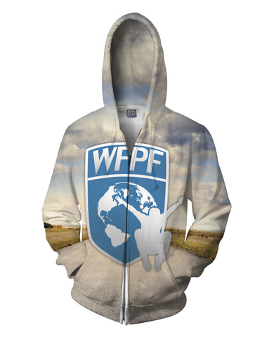 WFPF Open Road Logo Zip-Up Hoodie