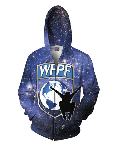 WFPF Space Logo Zip-Up Hoodie