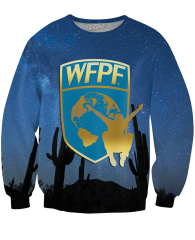 WFPF Starry Night Logo Crewneck Sweatshirt