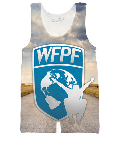 WFPF Open Road Logo Tank Top