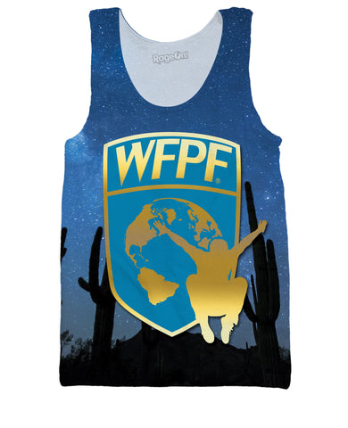 WFPF Starry Night Logo Tank Top