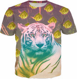 The Hypnotic Tiger and Her Cubs T-shirt