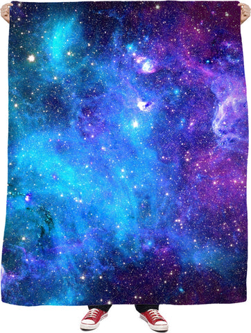 Galaxy Vibes Fleece Blanket