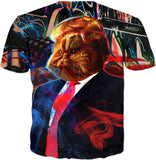 Trump Cat Custom T-Shirt