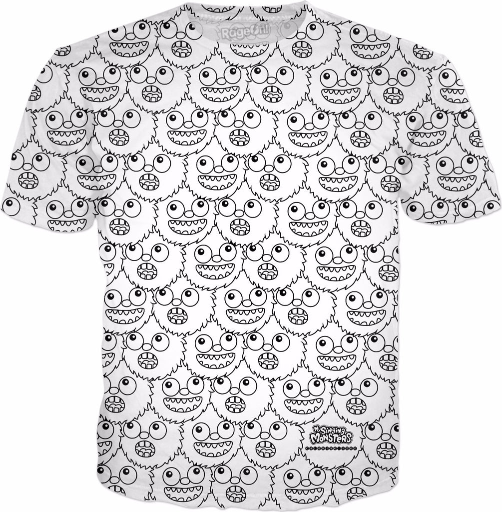 My Singing Monsters: Coloring Book Thumpies T-Shirt