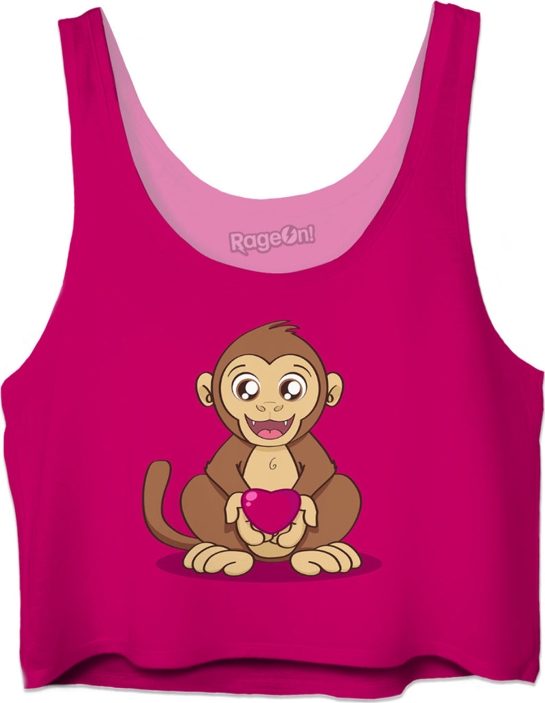 Monkey Love Crop Top
